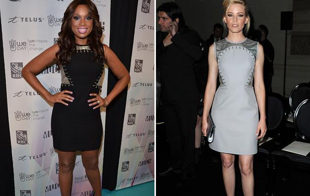 Dueling Dresses: Jennifer Hudson vs. Elizabeth Banks!