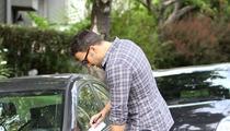 Ben Affleck Sideswipes Honda