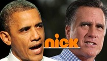Obama: Mitt Romney Disses Little Kids Over Nickelodeon Presidential Show