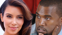 Kim Kardashian & Kanye West -- Hunting for $10 Million Miami Mansion