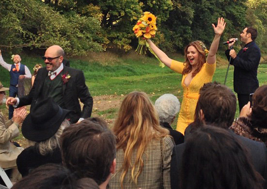 Blake Lively, Ryan Reynolds & More Attend Amber Tamblyn's Wedding