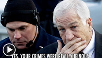 Jerry Sandusky -- Put This on Your Prison Playlist