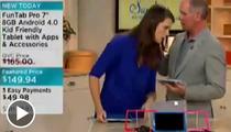 QVC Hosts -- Shop 'Til They Drop (then shop more)
