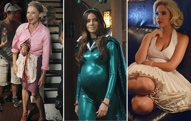 Scary Sitcom Costumes: Halloween Comes to TV!