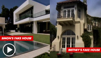 'X Factor' Lies -- Simon Cowell & Britney Spears' Houses WERE FAKES
