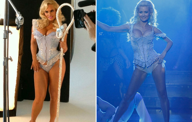 "Dueling ""Dresses"": Coco Austin vs. Holly Madison"