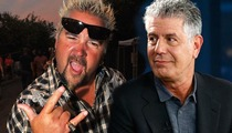 Anthony Bourdain -- RIPPED By Guy Fieri ... How Bout Those Drugs?