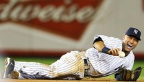 Derek Jeter Fractures Ankle, Done for the Season