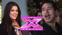 Khloe Kardashian & Mario Lopez -- Officially Sign On to 'X Factor'