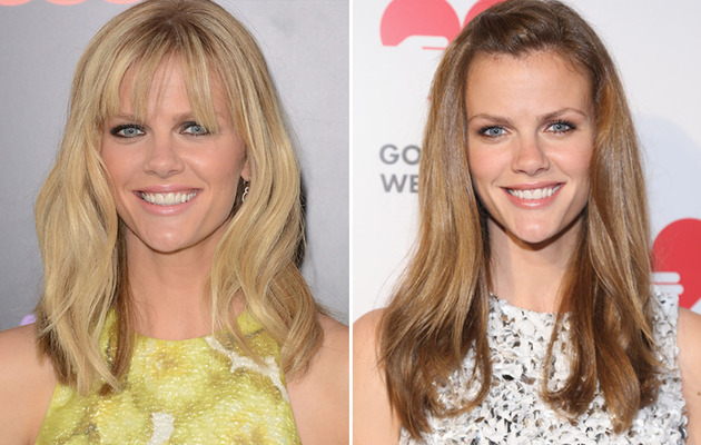 Brooklyn Decker Goes Brunette -- Better Blonde?