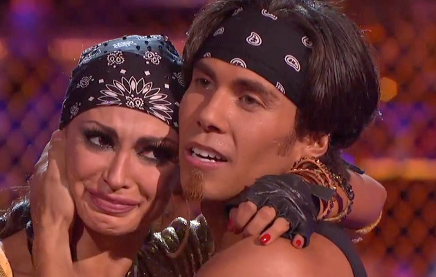 "Karina Smirnoff Breaks Down After ""Dancing with the Stars"" Fall!"