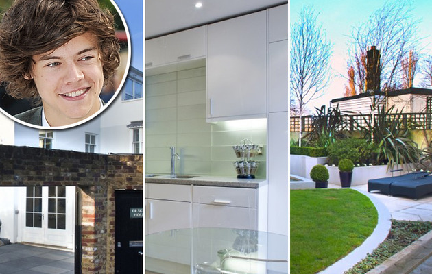 One Direction's Harry Styles Buys Multi-Million Dollar Bachelor Pad!
