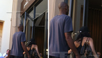 Kobe Bryant & Vanessa -- HOT LUNCH DATE