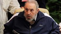 Fidel Castro Reportedly Suffers Stroke ... Close to Death