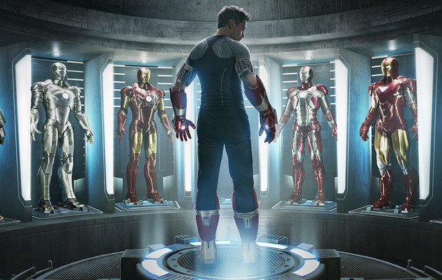 """Iron Man 3"" Trailer: Iron Patriot, The Mandarin & Major Destruction!"