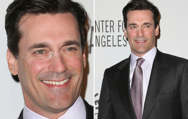 """Mad Men"" Star Has Makeup Malfunction!"
