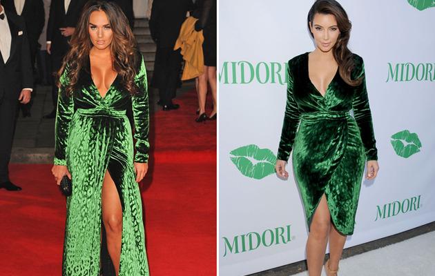 Dueling Dresses: Tamara Ecclestone vs. Kim Kardashian!