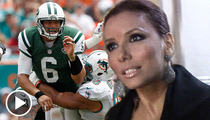 Eva Longoria & Mark Sanchez -- Break Up Was a Team Effort