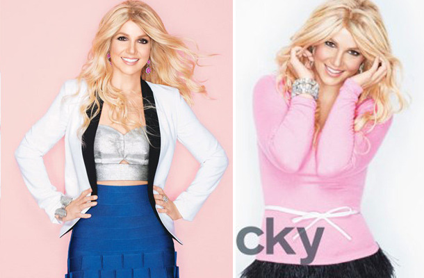 Britney Spears -- Wigging Out In New Lucky Magazine?