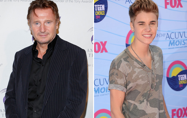 "Viral Video: Liam Neeson Performs Justin Bieber's ""Boyfriend!"""