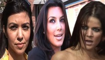 The Kardashians -- We'll Win Makeup War ... With Our Secret Weapon