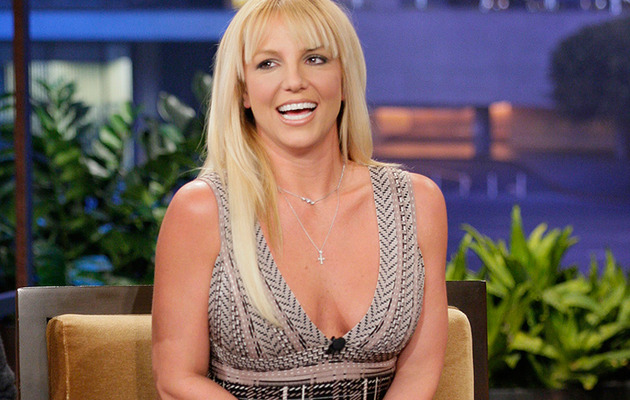 "Britney Spears Shows Skin, New 'Do on ""Leno"""