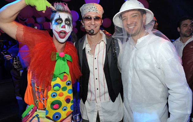 New Photos: Inside Matthew Morrison's Halloween Party!