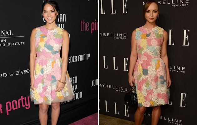 Dueling Dresses: Olivia Munn vs. Christina Ricci!