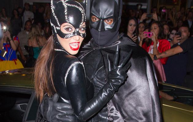 Halloween 2012: The Kardashians (And Kanye!) Dress for Batman Bash!