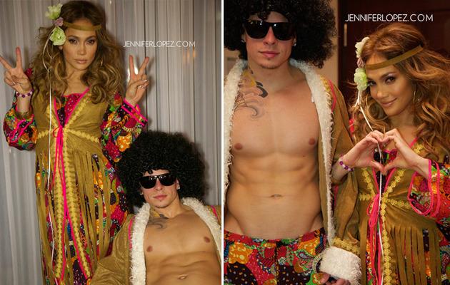 Jennifer Lopez & Casper Smart Reveal Sexy Halloween Costumes