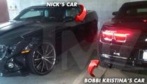 Bobbi Kristina -- Oops, I Smashed Into My BF's Car