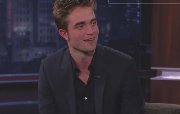 Robert Pattinson … Drunk During Jimmy Kimmel Interview?