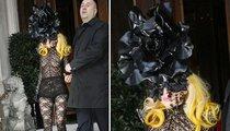Lady Gaga Laces Up