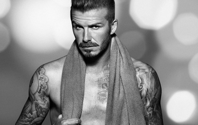 David Beckham Releases Sexy New Underwear Shots for H&M