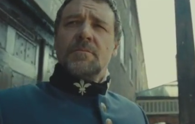 "New ""Les Miserables"" Trailer -- Hear Hugh Jackman and Russell Crowe Sing!"