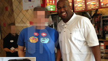 Mike Brown -- Fired Lakers Coach Drowns Sorrows at Chick-fil-A