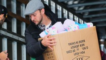 Justin Timberlake Volunteers for Hurricane Sandy Relief