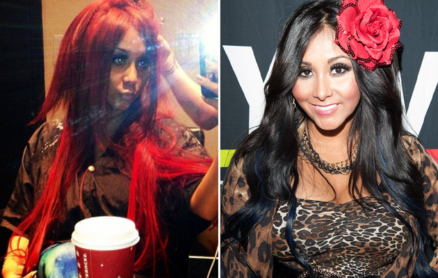 Snooki's New 'Do -- Do You Like Her Red Locks?