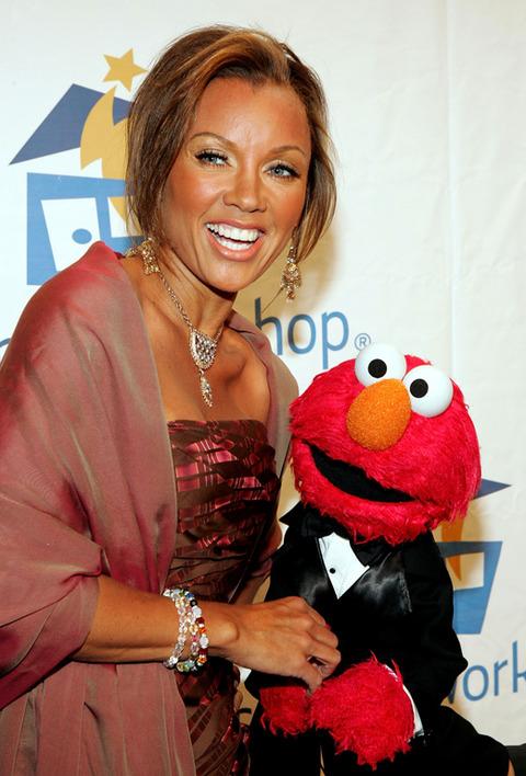 Elmo with Vanessa Williams