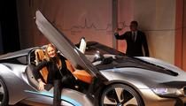 Bad Ass BMW -- Upstages Uma Thurman