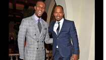 Chris Bosh & Jamie Foxx -- Are Finally on the Same Level