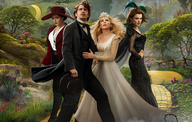 "Witches & Flying Monkeys In Full Trailer for ""Oz the Great and Powerful"""