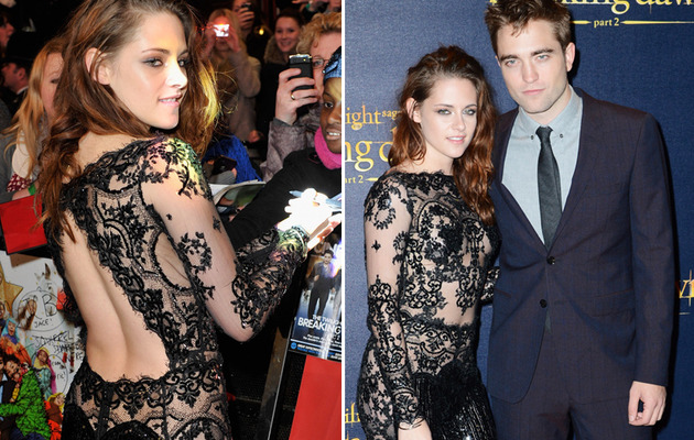 Sheer Madness! Kristen Stewart in Another Sexy See-Thru Look!