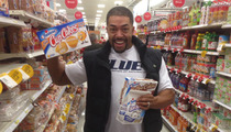 WWE Star David Otunga -- MASSIVE Snack Spree Before Hostess Closure