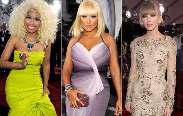 American Music Awards -- Red Carpet Hits and Misses!