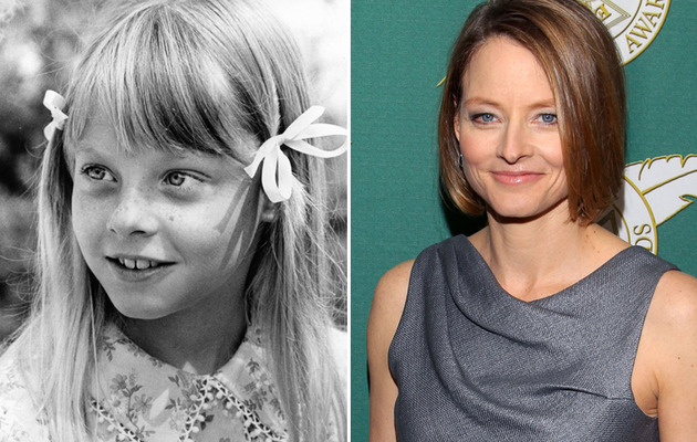 Jodie Foster Turns 50 -- See More Child Stars Then & Now!