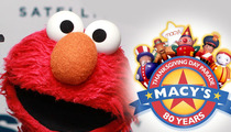 Elmo -- Won't Be Yanked From Thanksgiving Parade