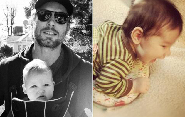 Jessica Simpson & Nick Lachey Share Cute Kid Pics on Thanksgiving!