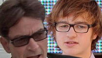 Charlie Sheen -- Angus T. Jones Is Acting Cult-ish ... 'Two and a Half Men' is Cursed