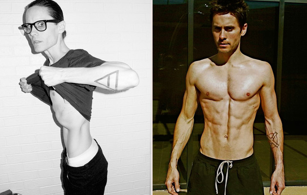 Jared Leto Fasting for New Role -- See His Super Skinny Body!